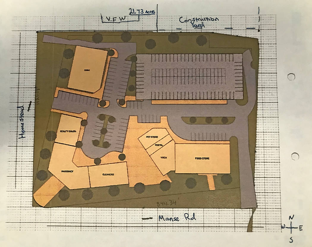 Robin Hebrock/Pahrump Valley Times This conceptual rendering, provided with the information for ...