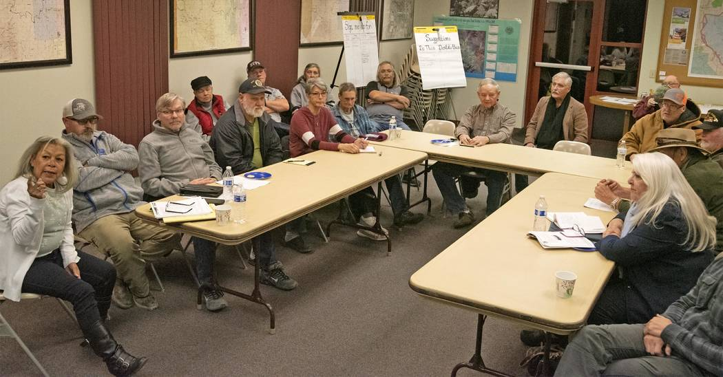 Richard Stephens/Special to the Pahrump Valley Times Erika Gerling, board treasurer, far left, ...