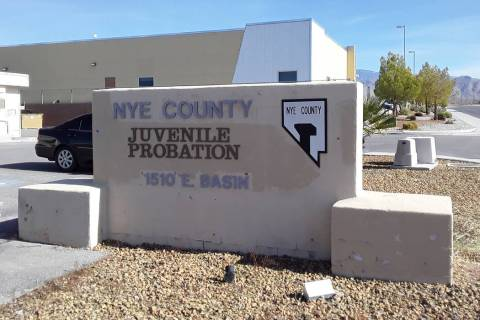 Selwyn Harris/Pahrump Valley Times Nye County Juvenile Probation employee Melinda Hinrichs is a ...