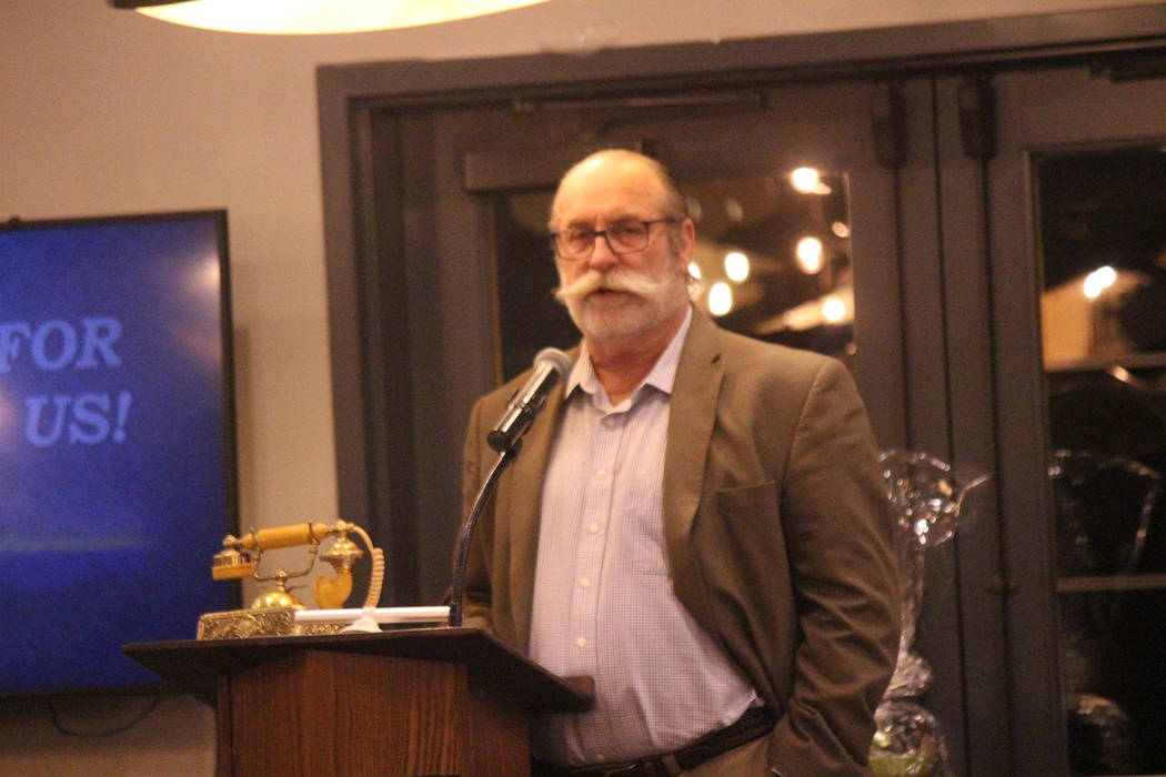 Jeffrey Meehan/Pahrump Valley Times Max Buffi, 2019 president of the Pahrump Valley Chamber of ...