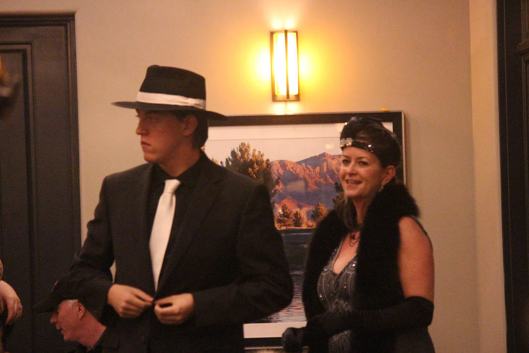 Jeffrey Meehan/Pahrump Valley Times Some came dressed for the occasion at Pahrump Valley Chambe ...