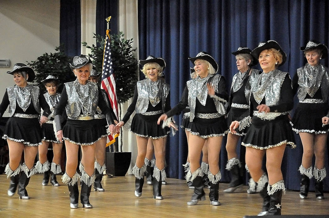 Horace Langford Jr./Pahrump Valley Times The Nevada Silver Tappers helped provide entertainment ...