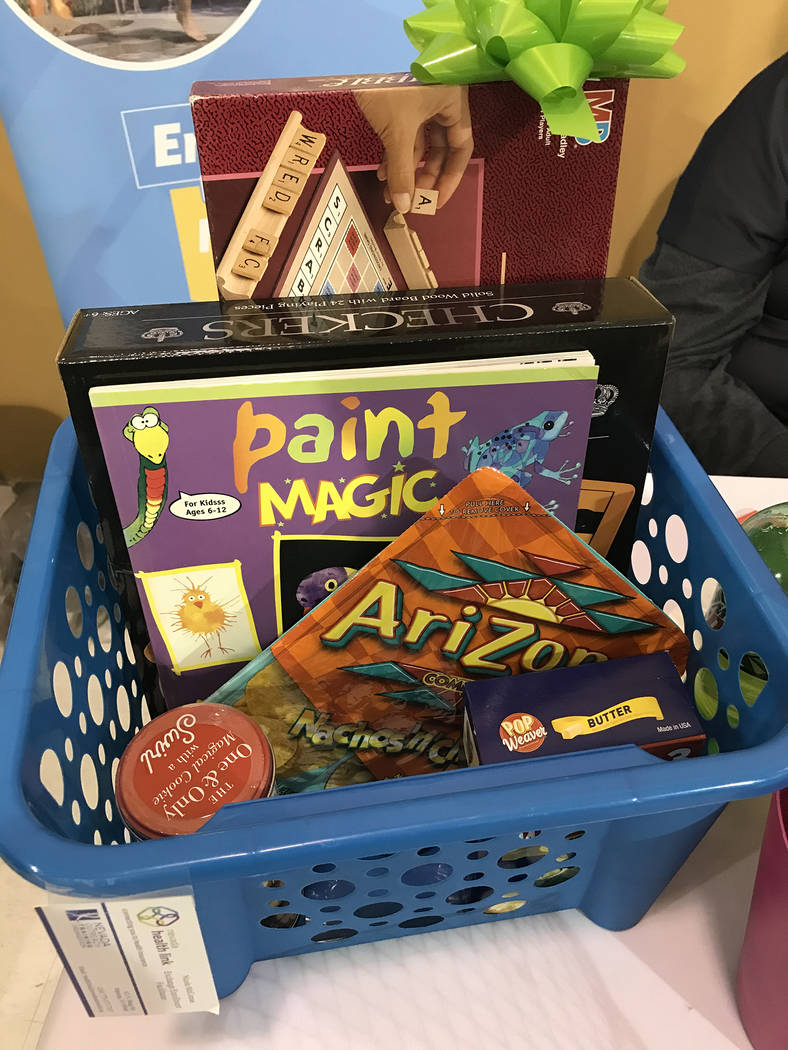 Robin Hebrock/Pahrump Valley Times To add a little extra fun to the Social Services Fair, parti ...