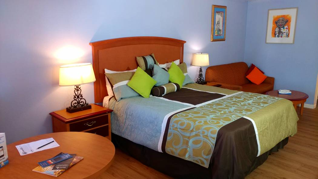 Hame Anand/Special to the Times-Bonanza The Clown Motel in Tonopah has newly renovated rooms. T ...