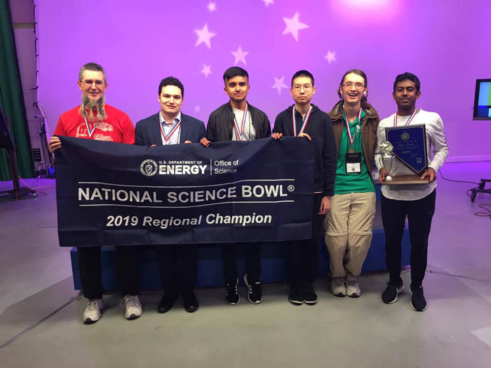 Special to the Pahrump Valley Times Reigning Nevada Science Bowl champions Clark High School ha ...
