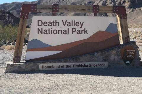 Jeffrey Meehan/Pahrump Valley Times Death Valley National Park holds its Dark Sky Festival this ...