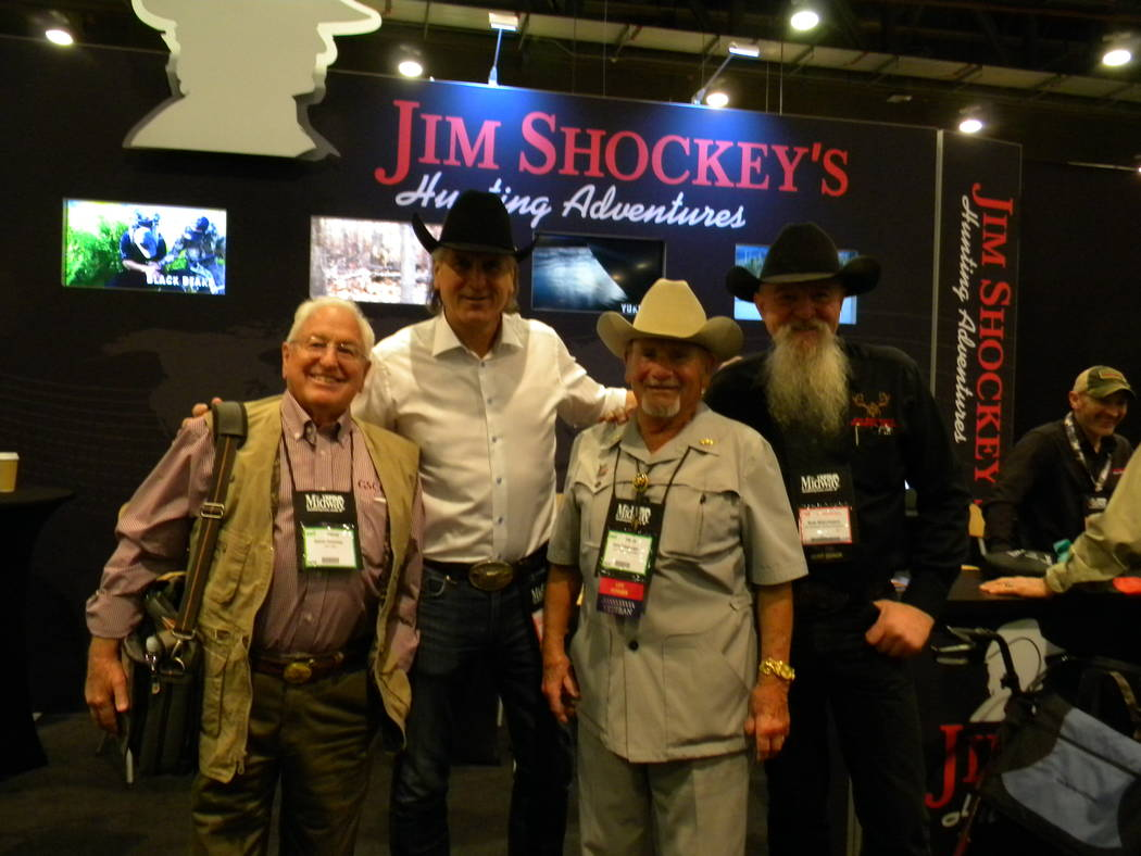Dan Simmons/Special to the Pahrump Valley Times From left to right, Dan Simmons, Jim Shockley, ...