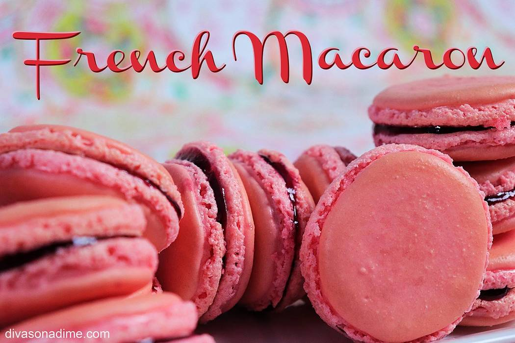 Patti Diamond/Special to the Pahrump Valley Times Macarons are delicious little Parisian confec ...