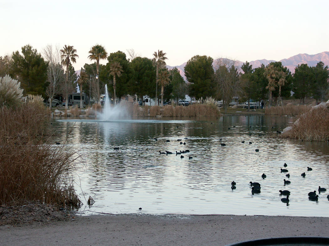 Selwyn Harris / Pahrump Valley Times - Lakeside RV Park was one of two local properties to rece ...