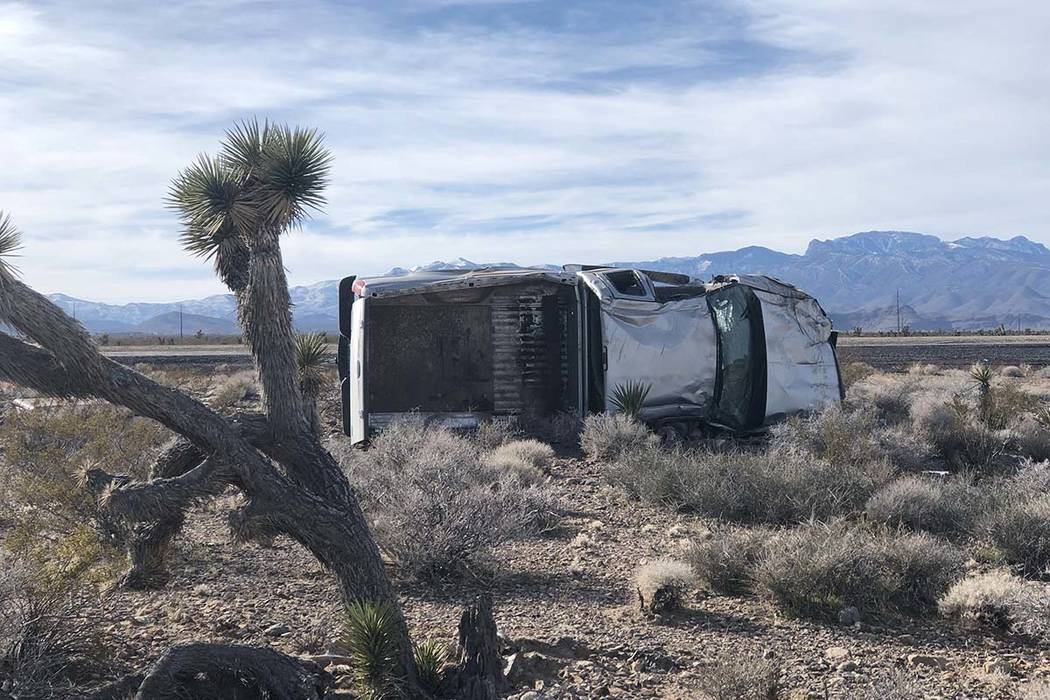 Nevada Highway Patrol NHP Public Information Officer Jason Buratczuk said roughly 30 percent of ...