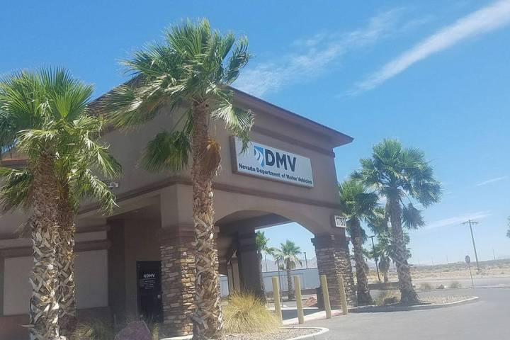 David Jacobs/Pahrump Valley Times The Nevada Department of Motor Vehicles cut parallel parking ...