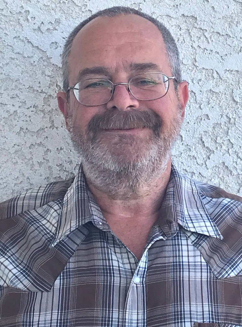 Special to the Pahrump Valley Times Dan Schinhofen as shown in a 2018 file photo.