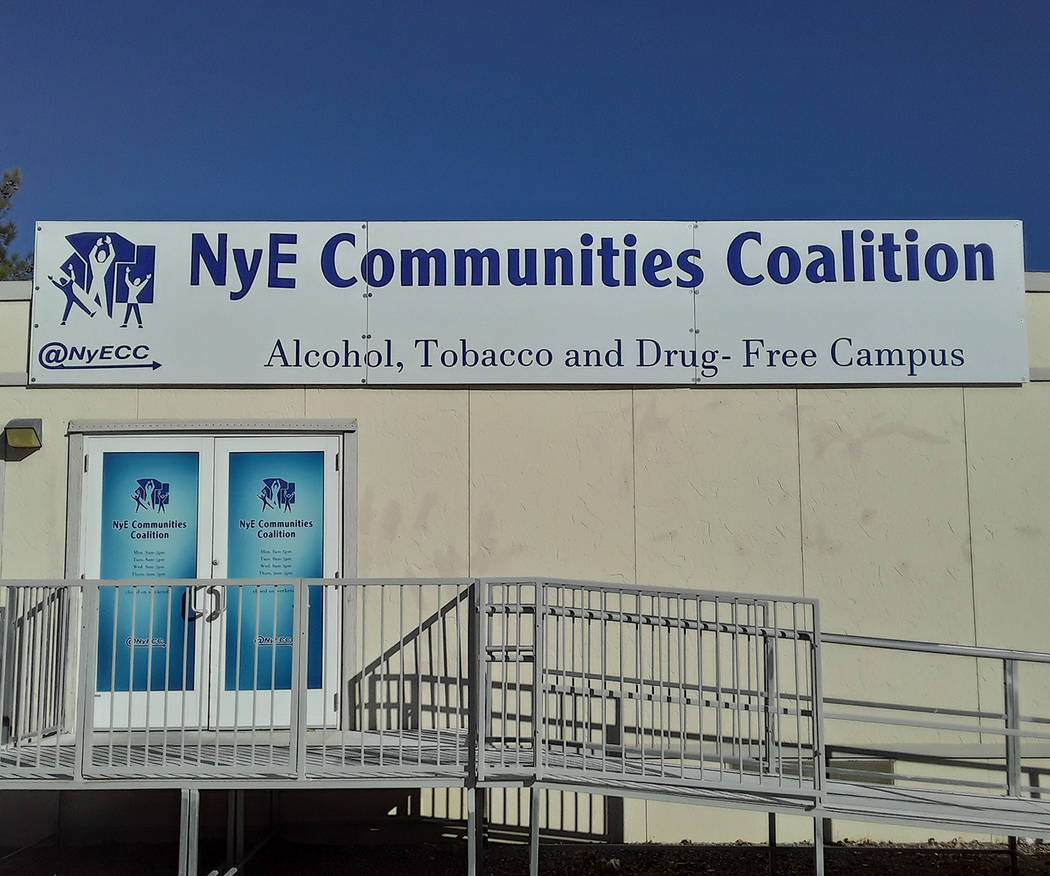 Selwyn Harris/Pahrump Valley Times NyE Communities Coalition Adult Workforce Programs Manager E ...