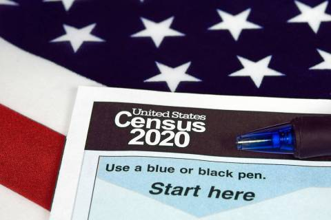 Getty Images Census Day will be observed nationwide on April 1. U.S. households will begin to r ...