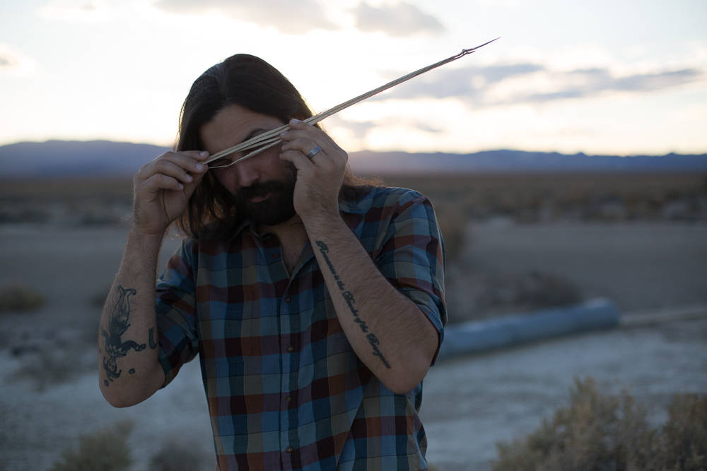 Bobbi Fabian/Special to the Pahrump Valley Times Also appearing is D. Pel, an indie folk musici ...