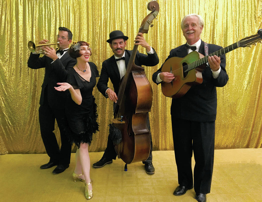 Robert Loveless/Special to the Pahrump Valley Times Janet Klein and Her Parlor Boys will take t ...