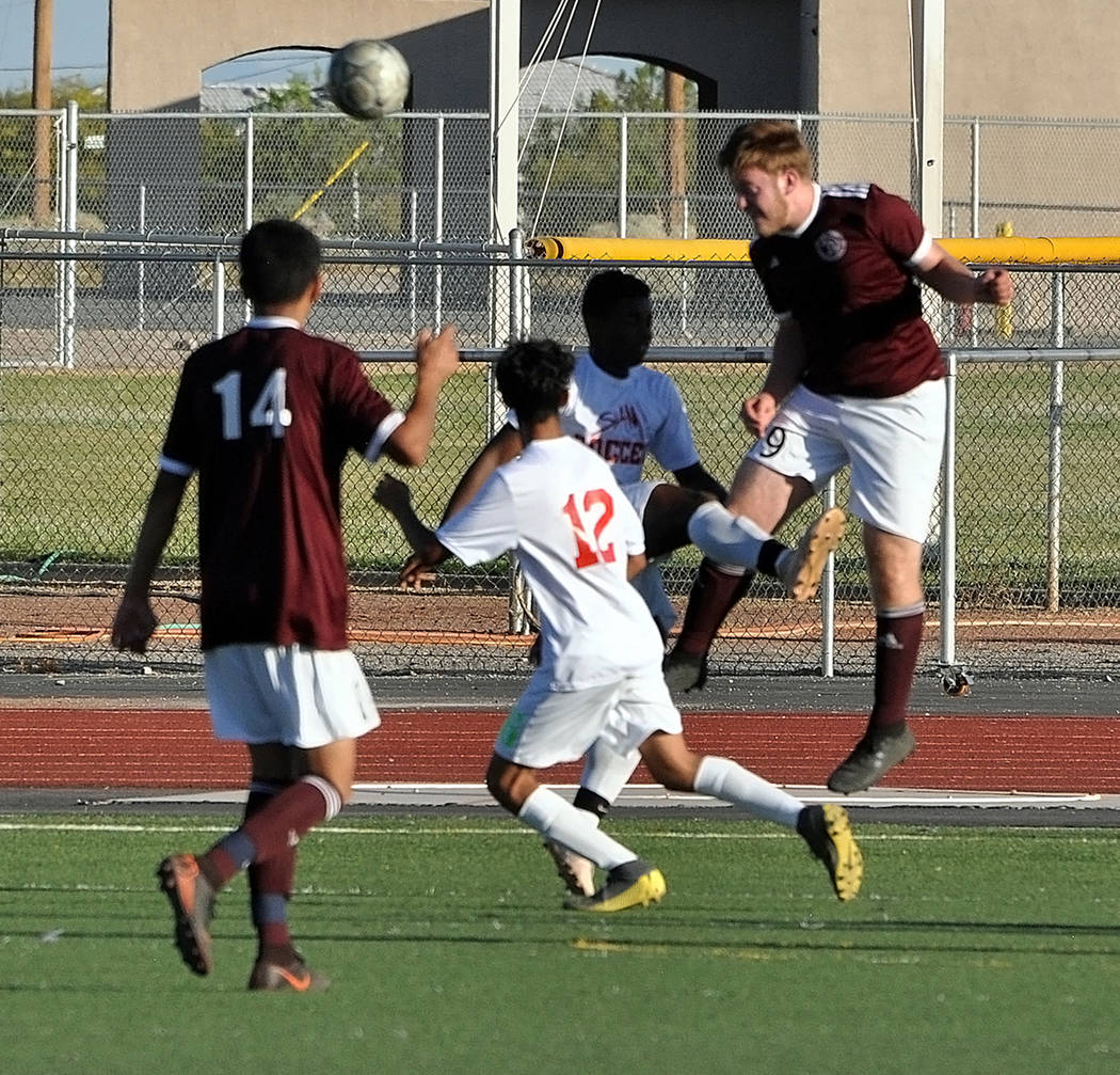 Horace Langford Jr./Pahrump Valley Times Many student-athletes at Pahrump Valley High School pl ...