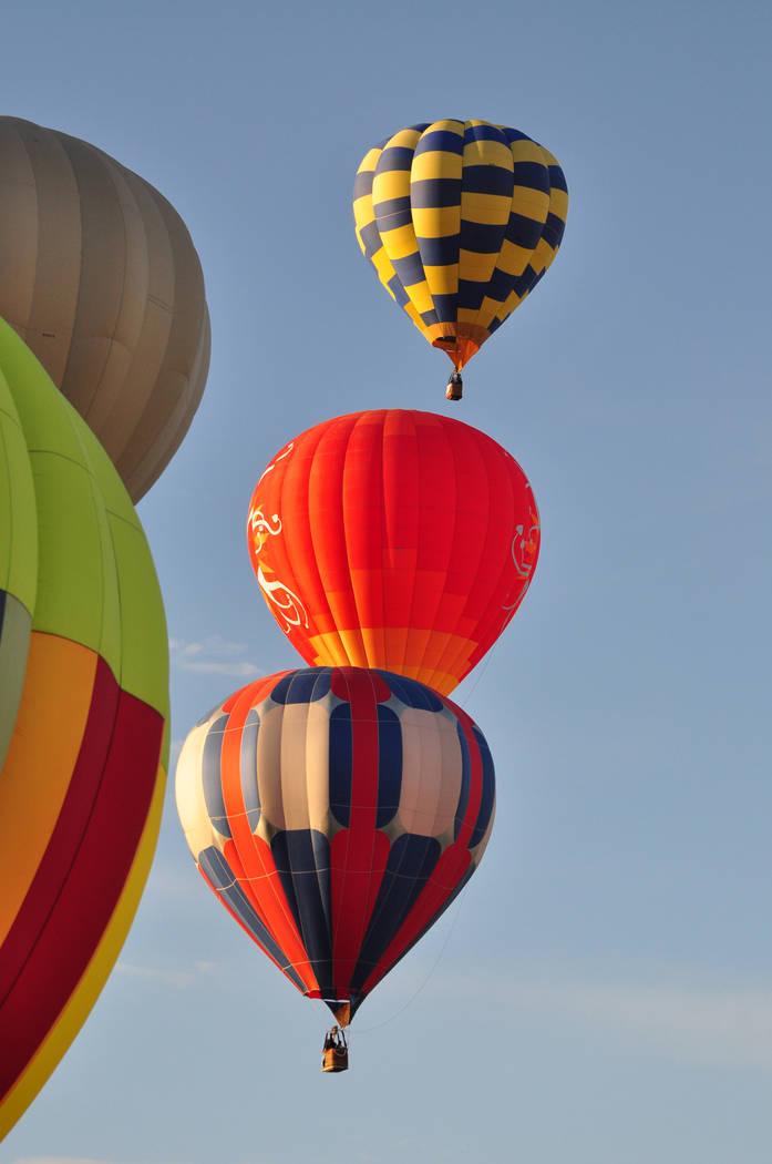 Horace Langford Jr / Pahrump Valley Times The annual Pahrump Hot Air Balloon Festival returns ...