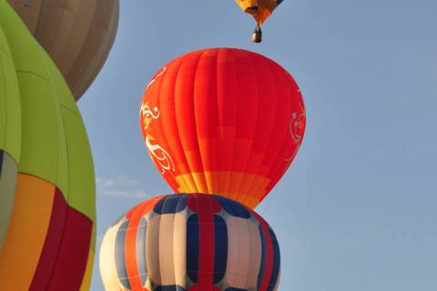 Horace Langford Jr / Pahrump Valley Times The annual Pahrump Hot Air Balloon Festival returns ...