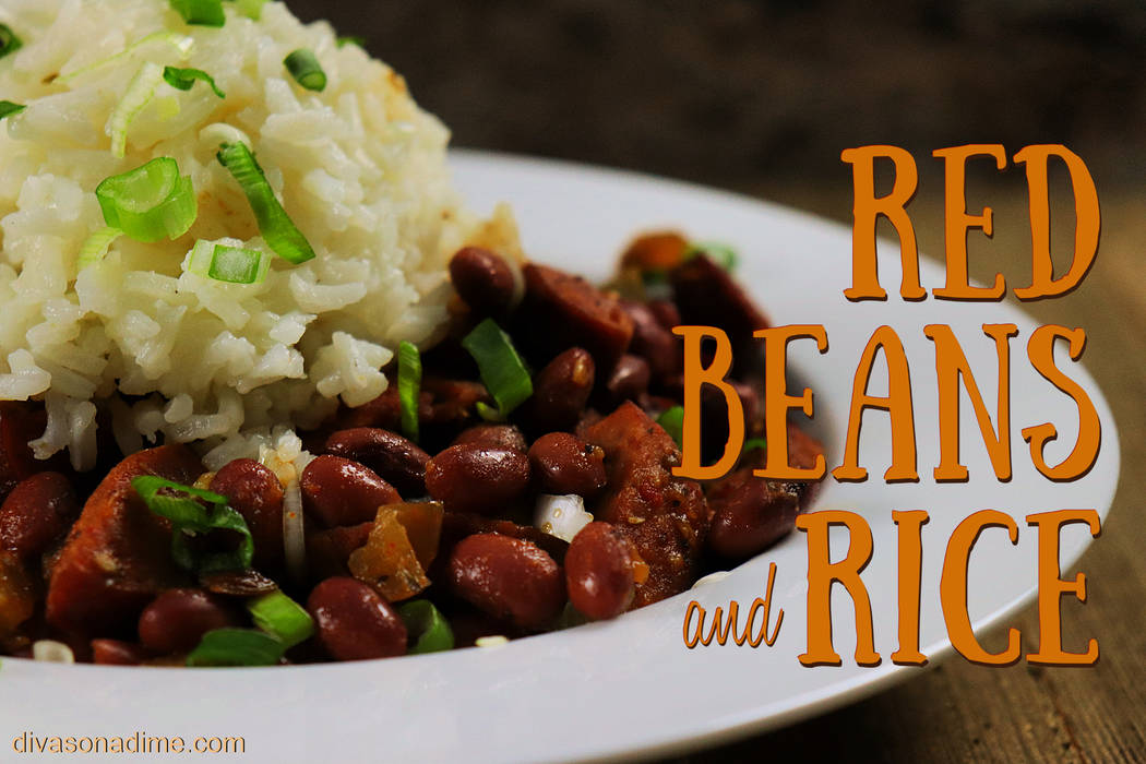 Patti Diamond/Special to the Pahrump Valley Times Red beans and rice is customarily made on Mon ...