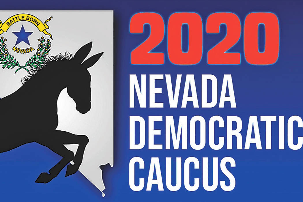 Heather Ruth/Pahrump Valley Times The 2020 Nevada Democratic Caucus is set for Saturday, Feb. 22.