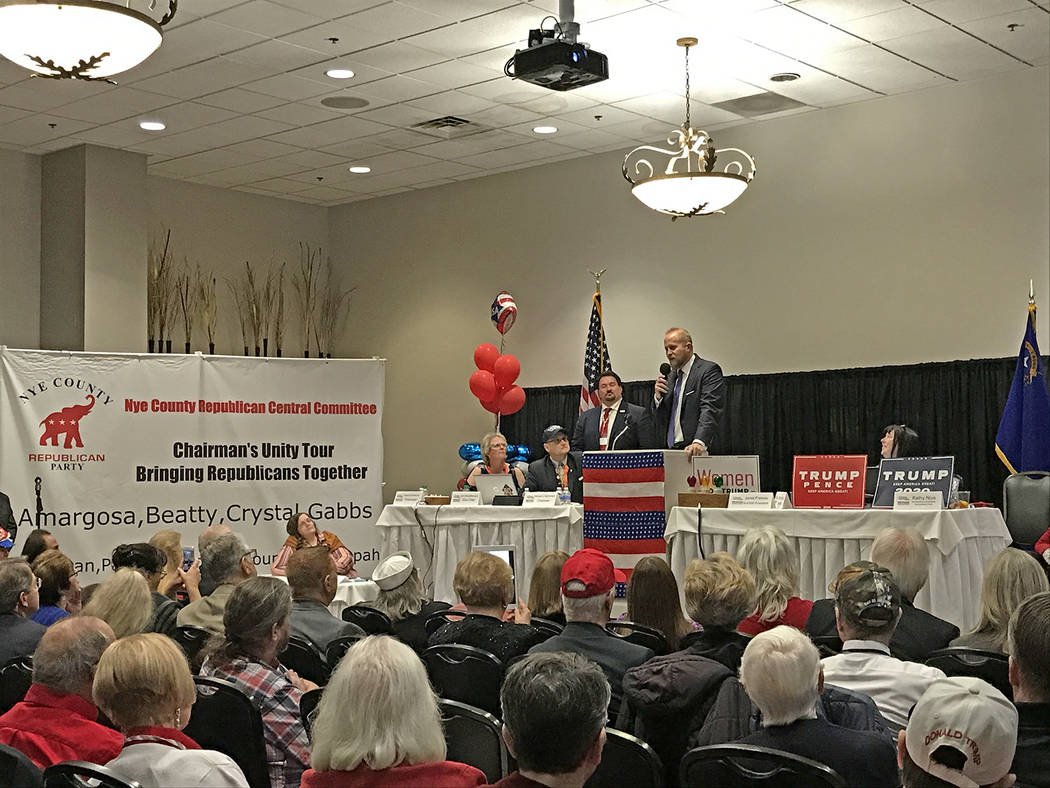 Robin Hebrock/Pahrump Valley Times Brad Parscale, President Donald Trump's National Re-election ...