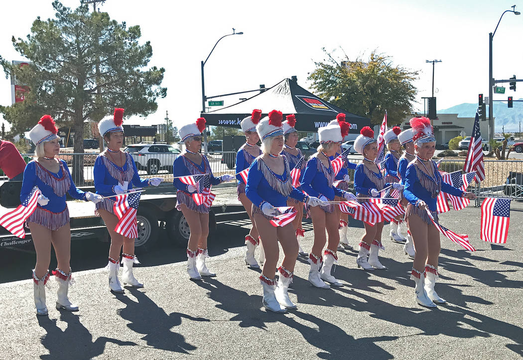 Robin Hebrock/Pahrump Valley Times The events on Feb. 23 were capped off by a patriotic perform ...
