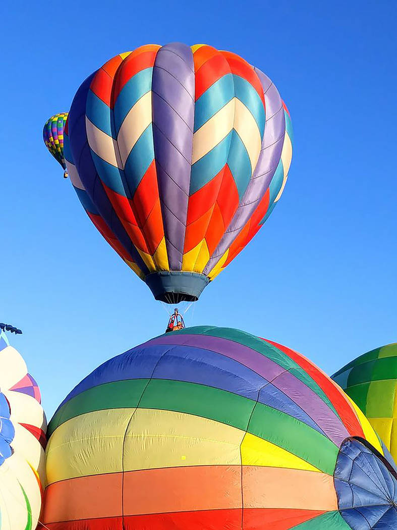 Pahrump Chamber of Commerce Hot air Balloon launches take place in the early morning hours due ...