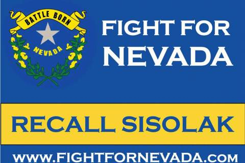 Special to the Pahrump Valley Times Fight for Nevada was formed last year with the goal of reca ...