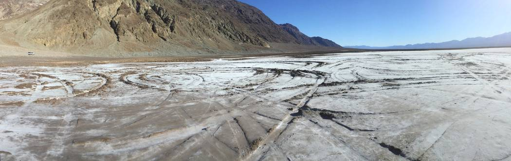 Special to the Pahrump Valley Times Death Valley National Park is hoping to restore damage don ...