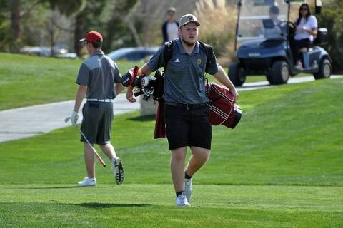 Horace Langford Jr./Pahrump Valley Times Pahrump Valley senior Koby Lindberg's 166 was the best ...