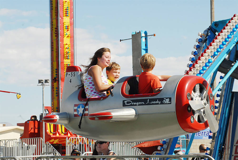 Special to the Pahrump Valley Times The carnival portion of the Pahrump Fall Festival is one of ...