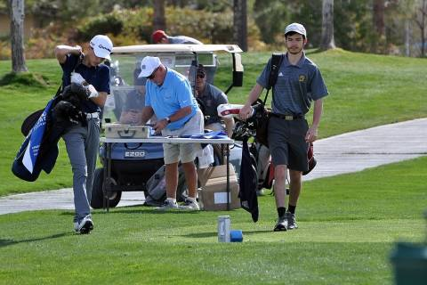 Horace Langford Jr./Pahrump Valley Times The Pahrump Valley High School boys golf team opened S ...