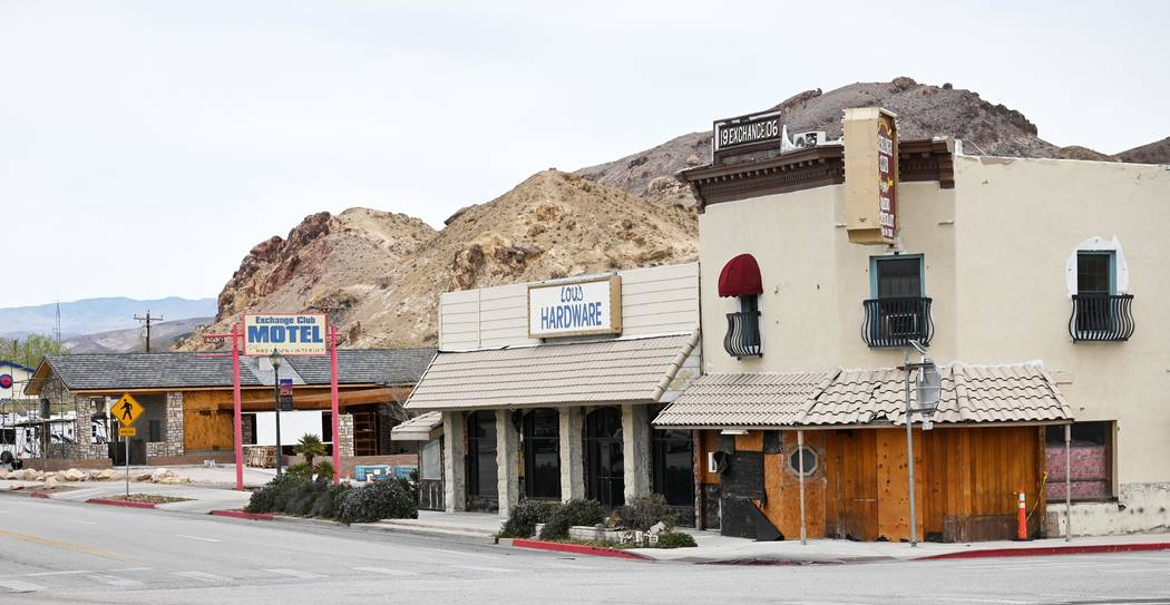 Richard Stephens/Special to the Pahrump Valley Times Part of the building once housed Andre's ...