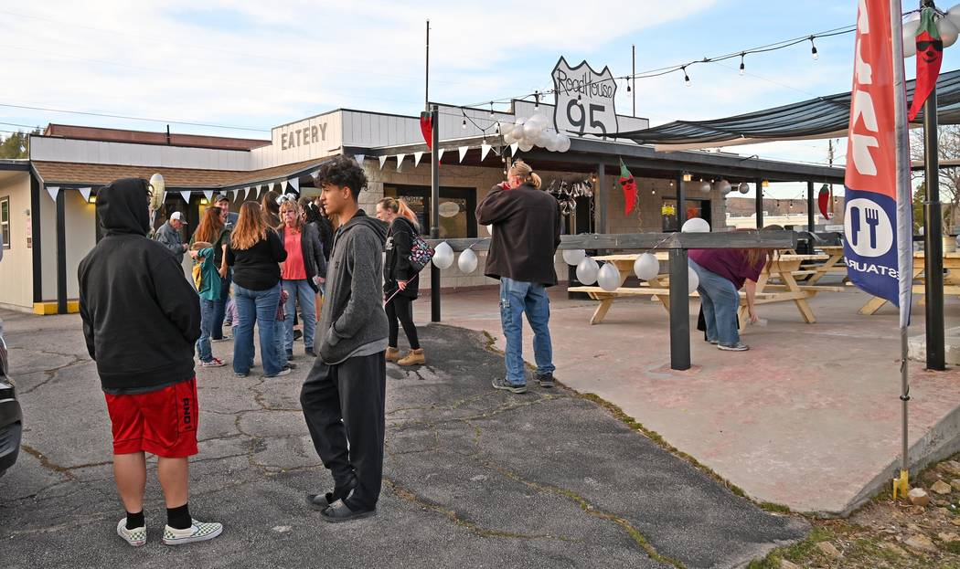 Richard Stephens/Special to the Pahrump Valley Times Road House 95 held its official grand open ...