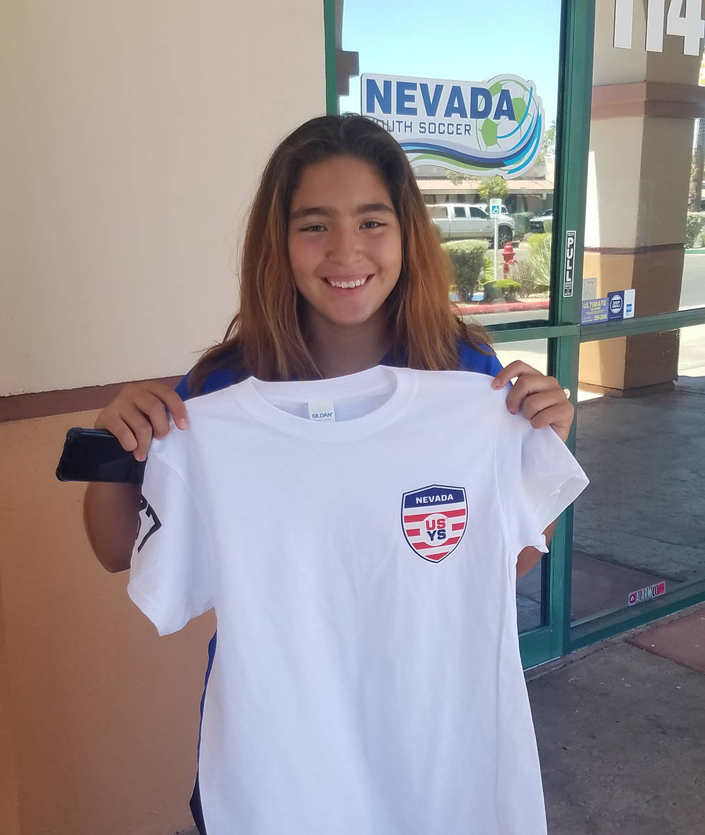 Danny Coleman/Special to the Pahrump Valley Times Pahrump resident Paris Coleman shows off her ...