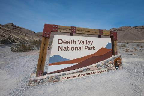 Richard Brian/Special to the Pahrump Valley Times Death Valley National Park remains open but s ...
