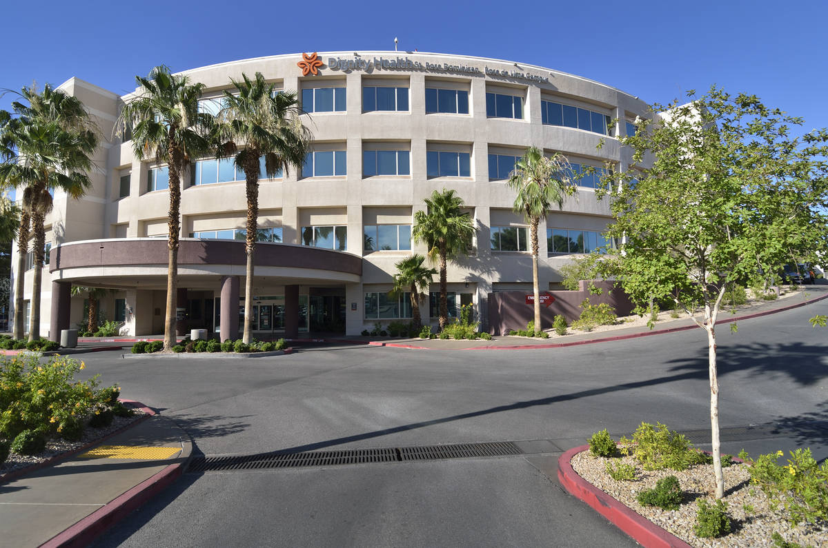 Bill Hughes/Las Vegas Review-Journal The Rose de Lima Campus of the Dignity Health St. Rose Dom ...