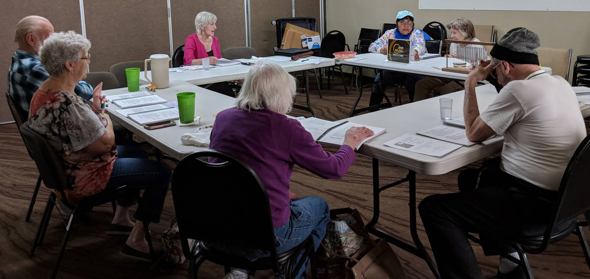 Special to the Pahrump Valley Times This photo shows attendees at Friends Day Out in Pahrump. W ...