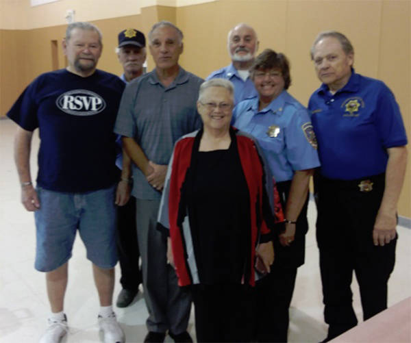 Special to the Pahrump Valley Times Nye County Sheriff's Auxiliary volunteers gave over 10,000 ...