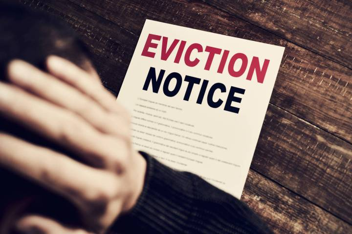 Getty Images Nevadans do not have to worry about evictions, as Nevada Gov. Steve Sisolak has si ...