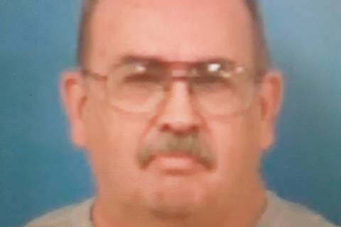 Special to the Pahrump Valley Times Pahrump resident Ernest Peterson, 62, was taken into custod ...