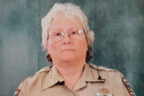 Special to the Pahrump Valley Times Nye County Sheriff Sharon Wehrly held a press conference on ...