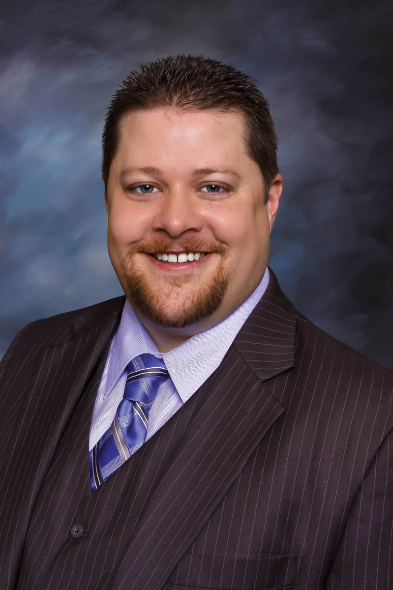Chris Bishop, president of Nevada Realtors