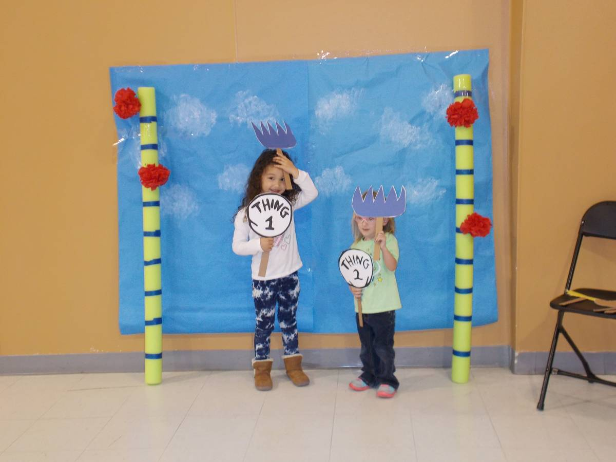 Sunrise Children's Foundation Children get to do fun activities during monthly mixer at the Nye ...