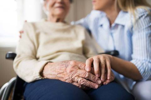 "Getty Images The Nevada CAN website, for Nevada COVID-19 Aging Network, is ""focused on mainta ..."