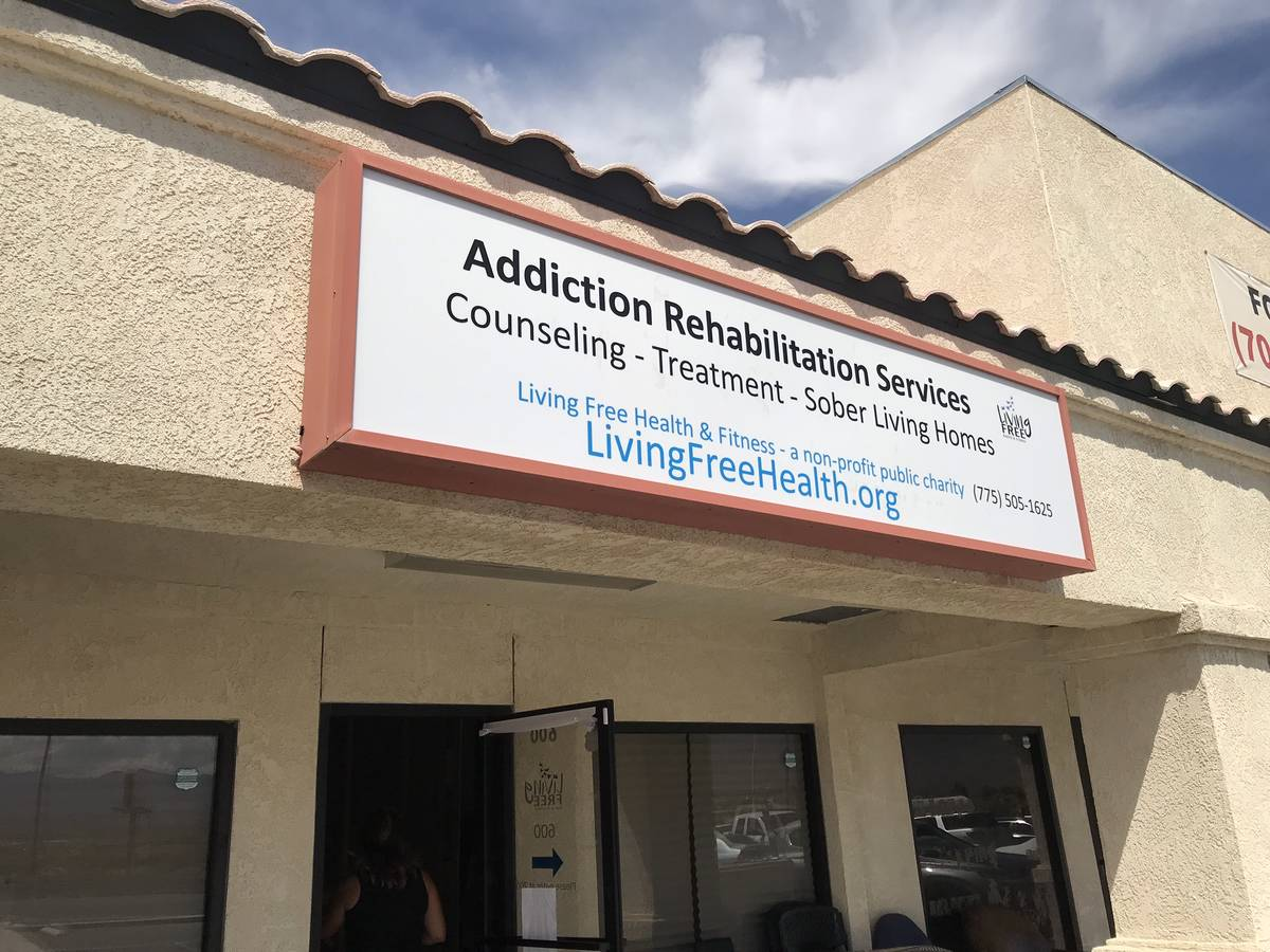 Jeffrey Meehan/Pahrump Valley Times Living Free Health and Fitness is located at 2050 N. Highwa ...