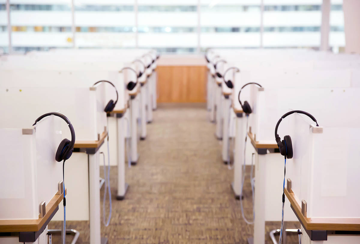 Getty Images The Nevada Department of Employment, Training and Rehabilitation announced the sel ...