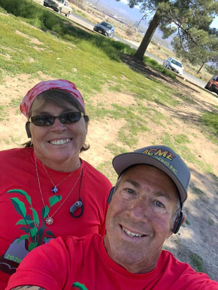 Special to the Pahrump Valley Times David Hecht posted this photo of himself and his wife Jeann ...