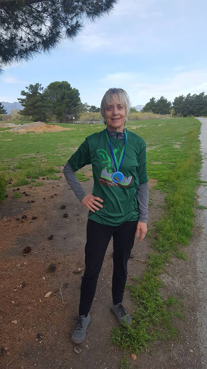 Special to the Pahrump Valley Times NyE Communities Coalition program manager Tamalyn Taylor wa ...